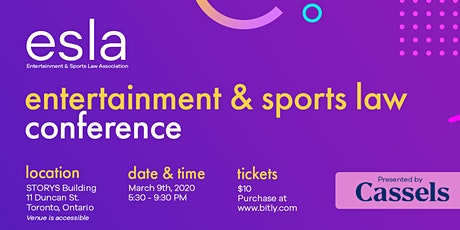 22nd Annual Entertainment & Sports Law Conference tickets