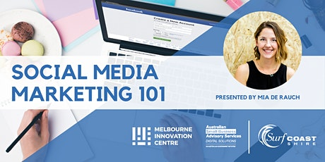 Social Media Marketing 101 - Surf Coast tickets