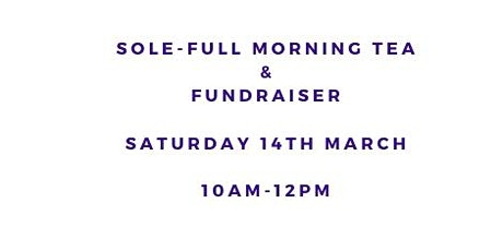 Sole-Full Shoe Sale Fundraiser & Morning Tea tickets