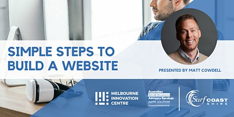 Simple Steps to Build a Website - Surf Coast tickets