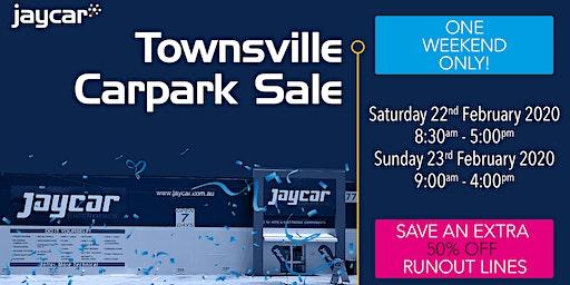 Townsville Carpark Sale | 50% Off Runout Lines