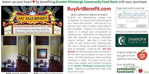 Original Art Sale Benefit for Greater Pittsburgh Food Bank