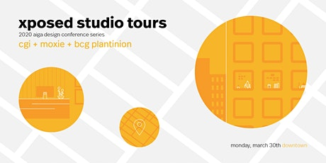 Conference Studio Tours: CGI, Moxie, and [TBA] tickets