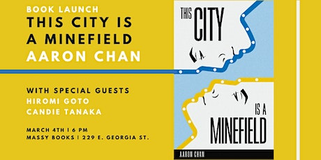 Aaron Chan Book Launch: This City Is a Minefield tickets