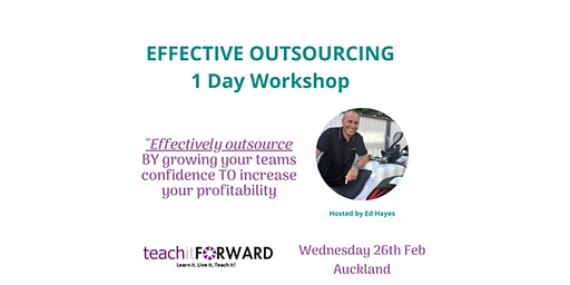 Effective Outsourcing - 1 Day Workshop - 26 Feb 2020
