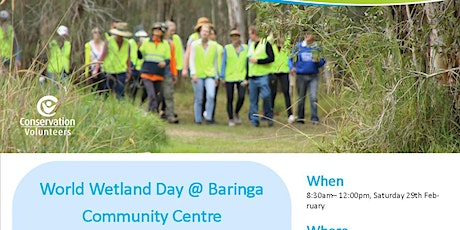 World Wetland Day @ Baringa Community Center tickets