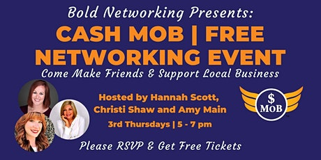 Tulsa Cash Mob - FREE Networking Event | October 2020 tickets