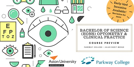 BSc (Hons) Optometry and Clinical Practice (OCP) Course Preview tickets
