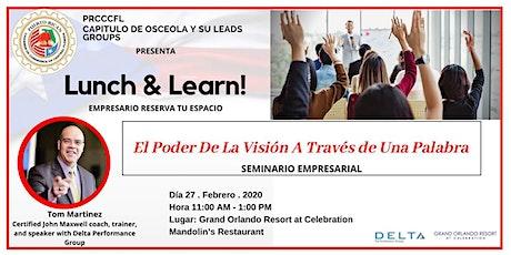 Lunch & Learn! entradas