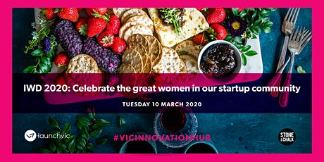 IWD 2020: Celebrate the great women in our startup community tickets