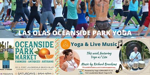 Yoga with LIVE Music + Farmers Market & More at the LOOP