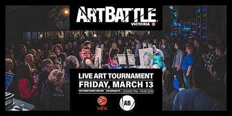 Art Battle Victoria - March 13, 2020 tickets
