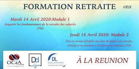 FORMATION SUR LA RETRAITE by DL DEVELOPPEMENT & OCEA CONCEPT billets