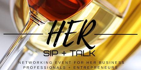 HER Sip + Talk | Round 8 tickets