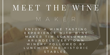 Meet the wine maker tickets