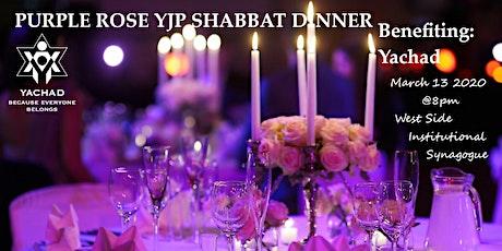 Purple Rose YJP Shabbat Dinner (Benefiting: Yachad) tickets