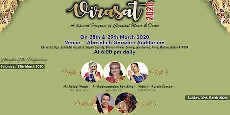 Virasat 2020 by Pracheen Kala Kendra tickets