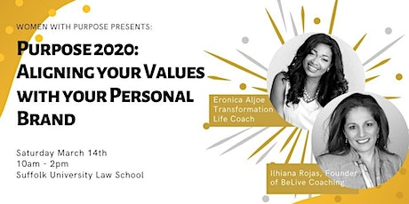 Purpose 2020: Aligning Your Values with Your Personal Brand tickets