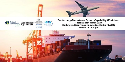 Canterbury - Bankstown Export Capability Workshop