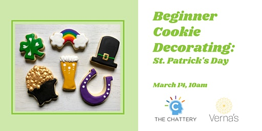 Beginner Cookie Decorating:  St. Patrick's Day