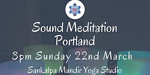 Sound Meditation Portland ~ New Moon
