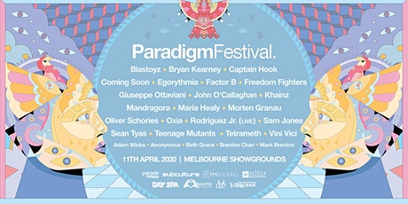 Paradigm Festival 2020 tickets