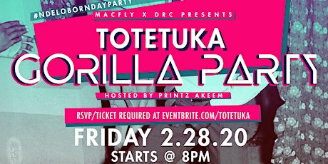TOTETUKA | THE GORILLA PARTY tickets