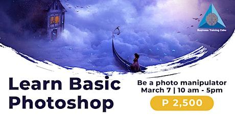 Basic Photoshop Training tickets