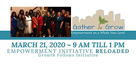 Gather & Grow Women's Empowerment Lunch tickets