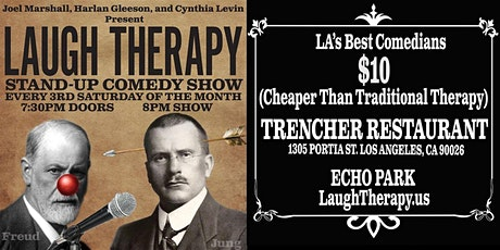 Laugh Therapy - Saturday March 21, 2020 - Trencher Restaurant Echo Park tickets