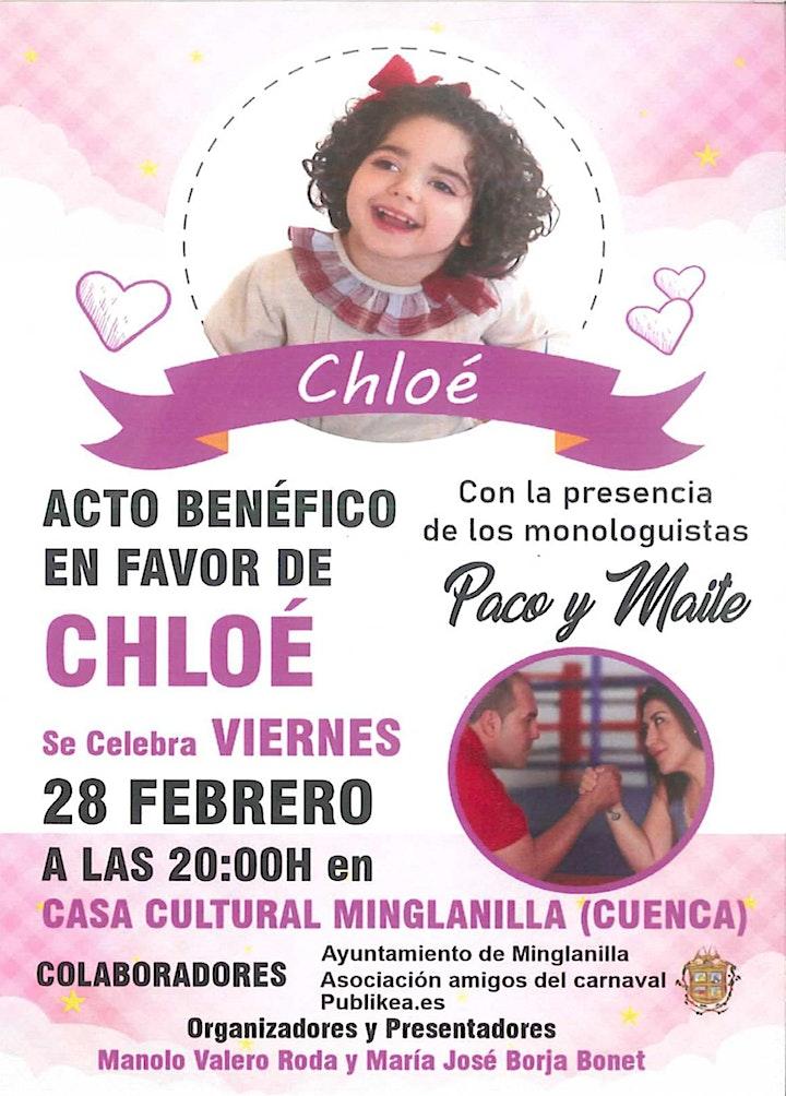 Imagen de PACO Y MAITE - ACTUACIÓN BENÉFICA A FAVOR DE CHLOE