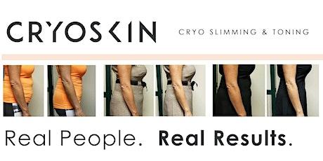 Tan & Tone Party -Cryoskin Slimming Treatment & Custom Airbrush Spray Tans tickets