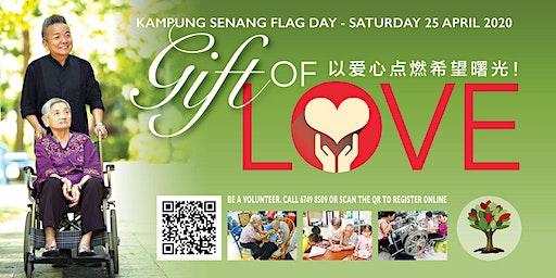 Kampung Senang Flag Day - Saturday 25 April 2020