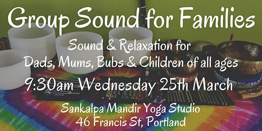 Group Sound for Families ~ Portland