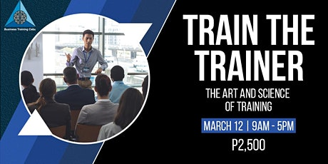 Train the Trainer tickets