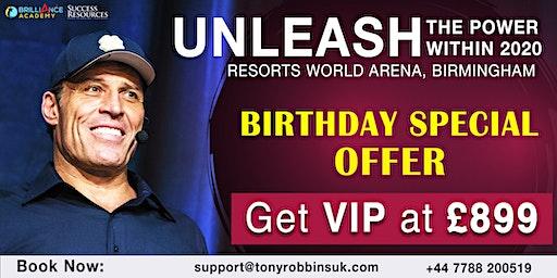 Tony Robbins -Unleash The Power Within (UPW Birmingham 2020)