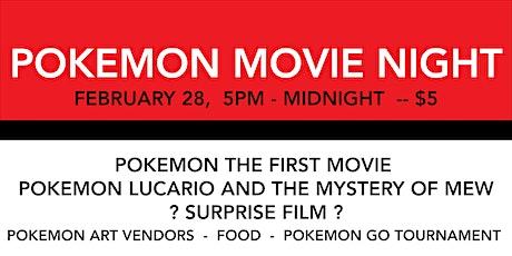 Pokemon Movie Night tickets