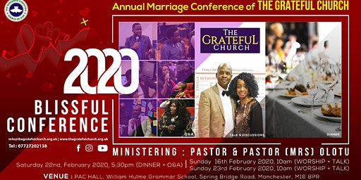 2020 BLISSFUL CONFERENCE
