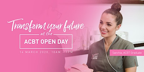 Australian College of Beauty Therapy OPEN DAY tickets