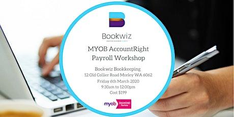 MYOB AccountRight Payroll Workshop tickets