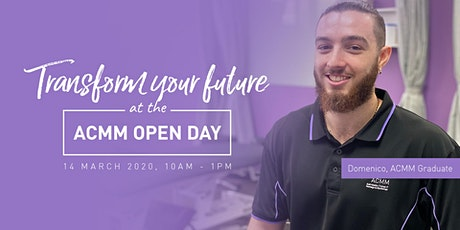 Australian College of Massage & Myotherapy OPEN DAY tickets