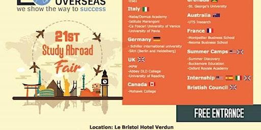 Educom Overseas -21st  study Abroad Fair