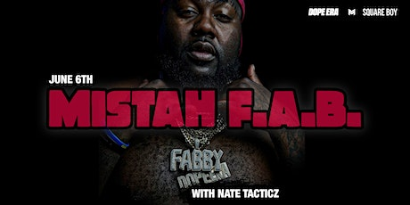 Mistah F.A.B. With Nate Tacticz tickets
