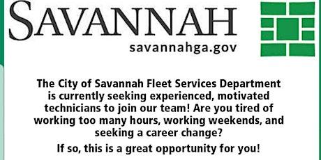City of Savannah Fleet Services Career Day  tickets