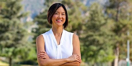Meet Tina Wu Fredericks for PUSD School Board (Wendlers) tickets