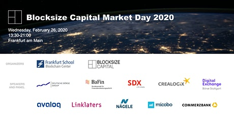 Blocksize Capital Market Day tickets