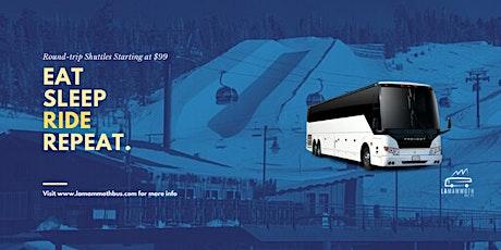 1-Day Round Trip Shuttle to Mammoth Mountain Ski Resort(Long Beach Pickup) tickets