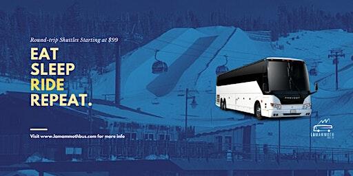 1-Day Round Trip Shuttle to Mammoth Mountain Ski Resort(Long Beach Pickup)