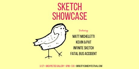 Bird City Comedy Festival Sketch Showcase tickets