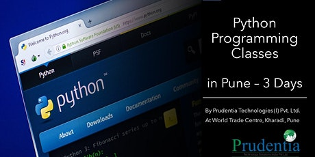 Python Programming Classes in Pune tickets